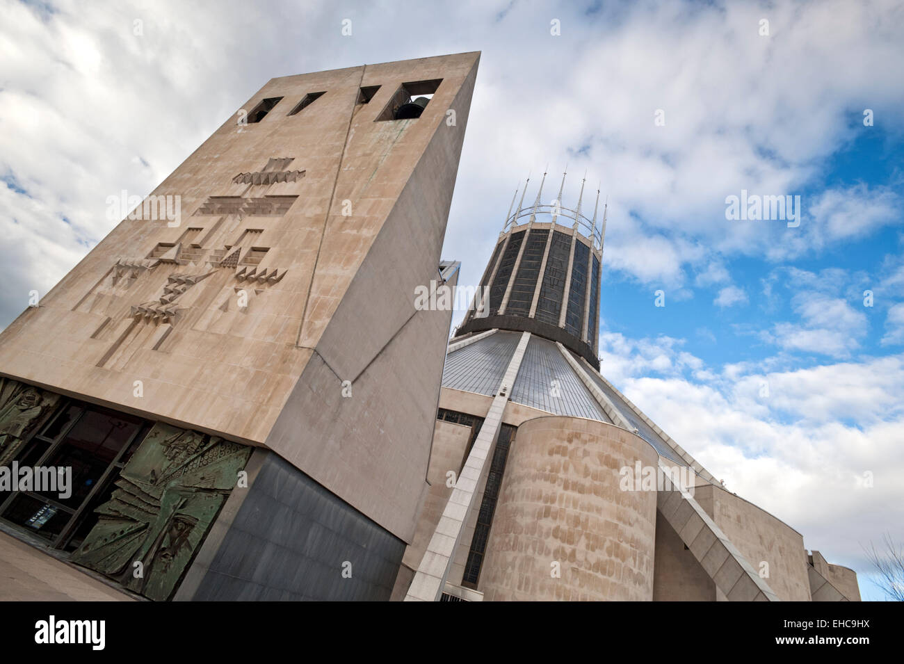 The Liverpool Metropolitan Cathedral, Liverpool, Merseyside, England, UK - Stock Image