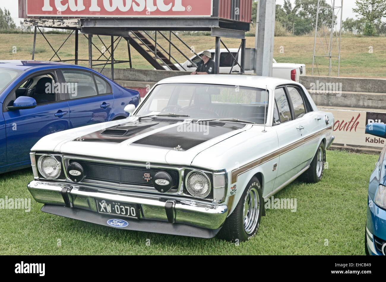 Ford Xw Falcon Gt By Ford Australia On Display At Tamworth Australia