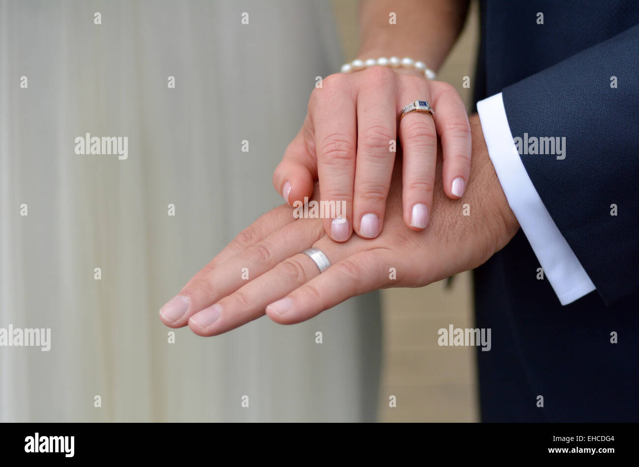 Exchange Of Wedding Rings Stock Photos & Exchange Of Wedding Rings ...
