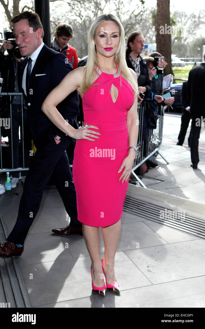 Kristina Rihanoff arriving for the 2015 TRIC Awards, at the Grosvenor House Hotel, London. 10/03/2015/picture alliance - Stock Image