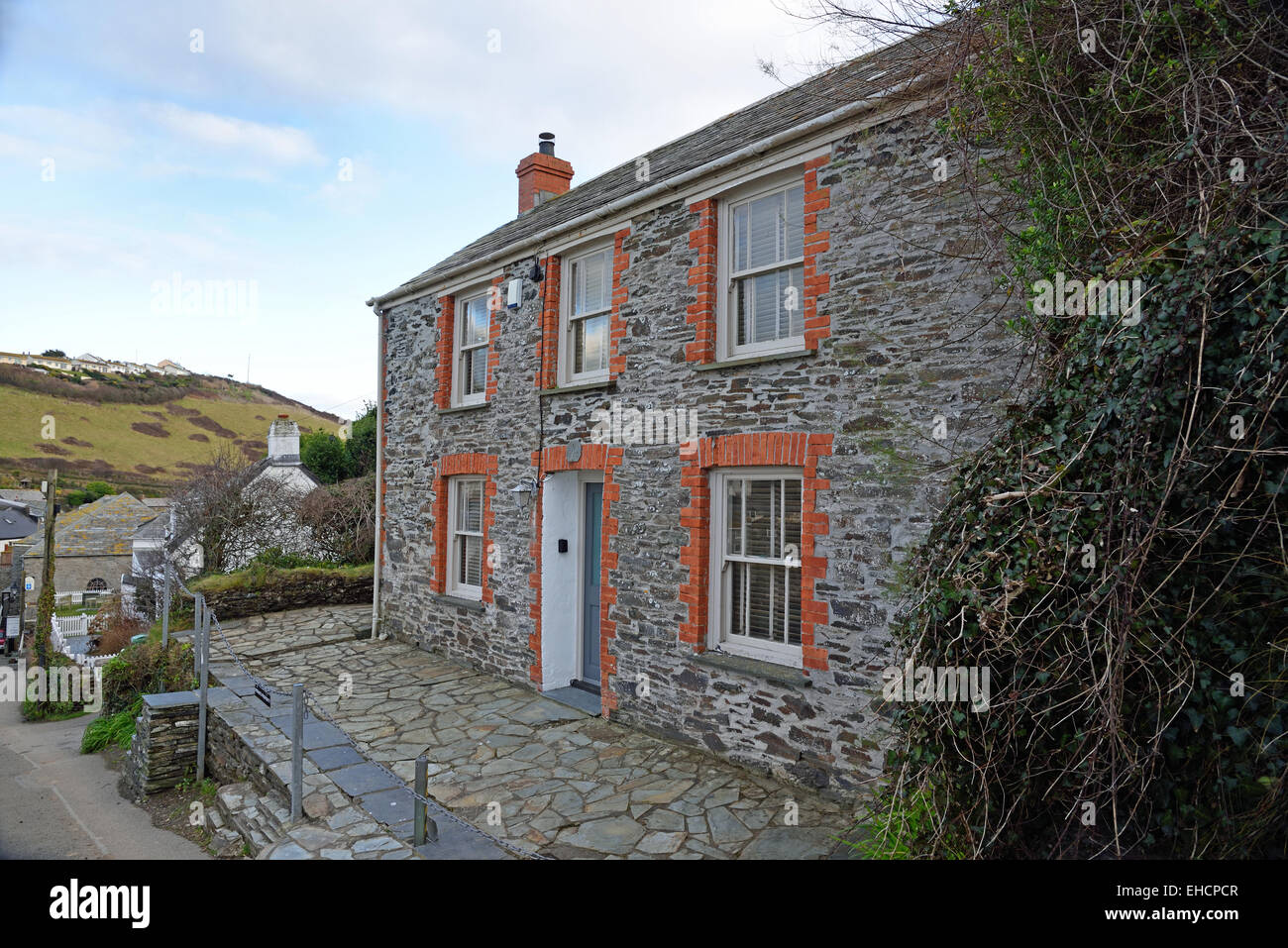 fern cottage port isaac cornwall used as doc martin s home in the rh alamy com fern cottage port isaac rental fern cottage port isaac cornwall