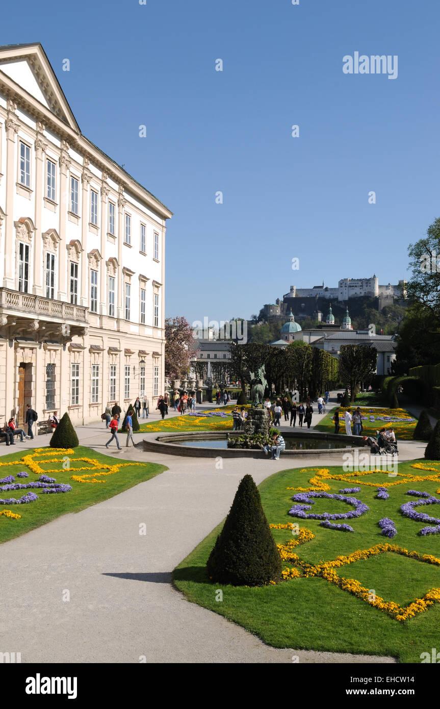Salzburg-Blick - Stock Image