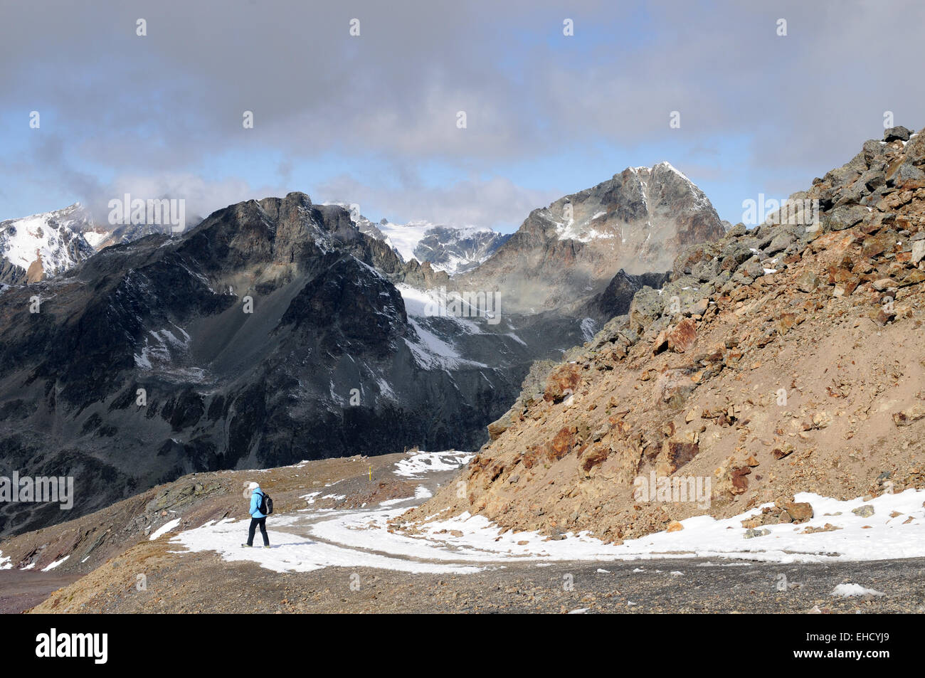 Gebirgslandschaft / Mountains - Stock Image