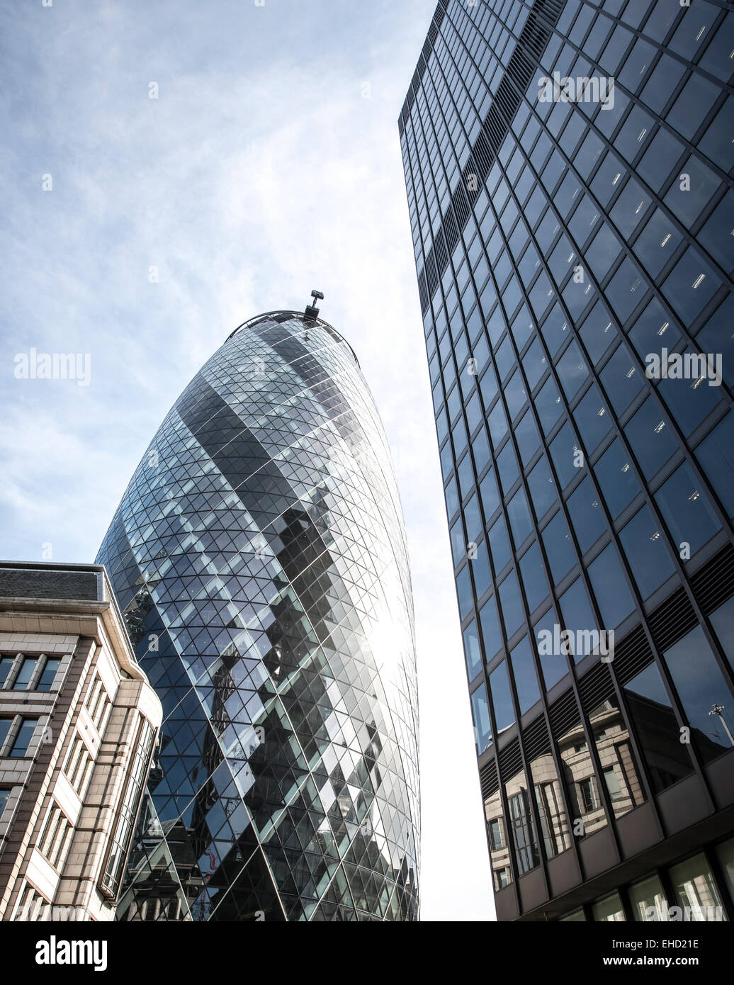 The Gherkin, London - Stock Image