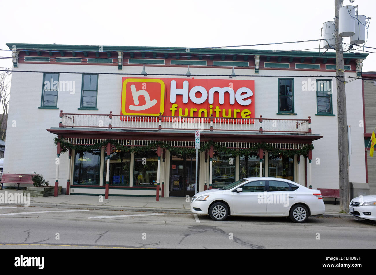 A Home Hardware Furniture Store In St Jacobs, Ontario In Canada.