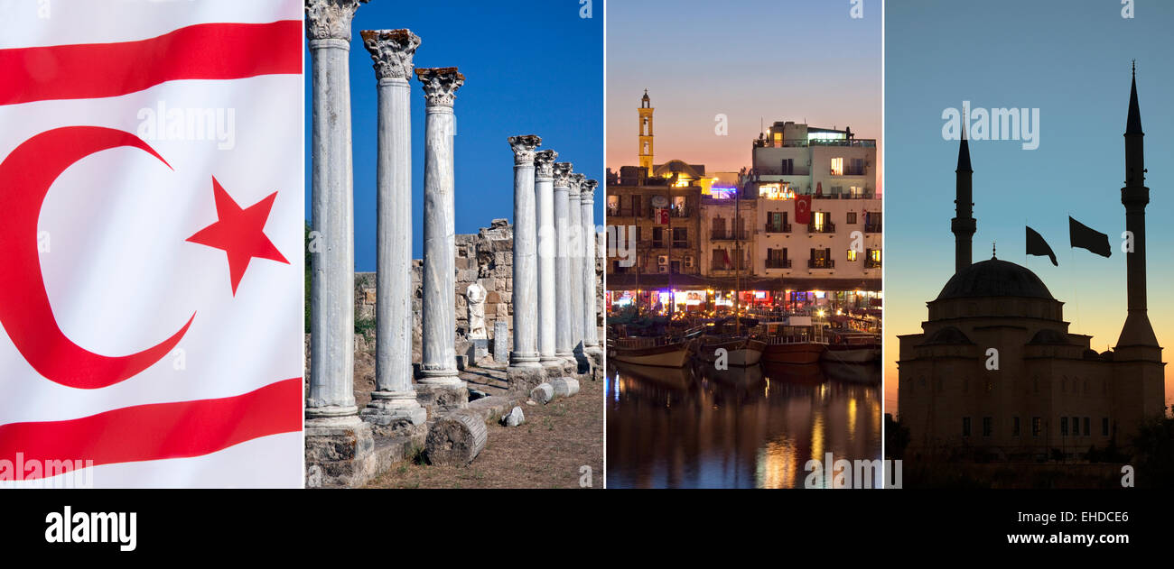 The Turkish Republic of Northern Cyprus - Stock Image