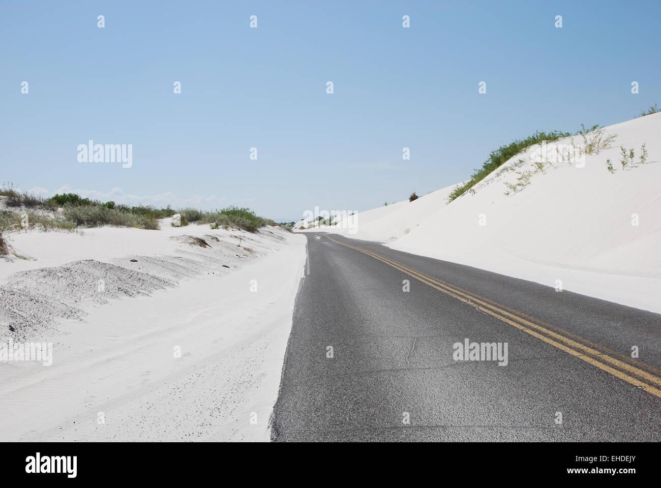 Desert Road / Wuestenstrasse - Stock Image