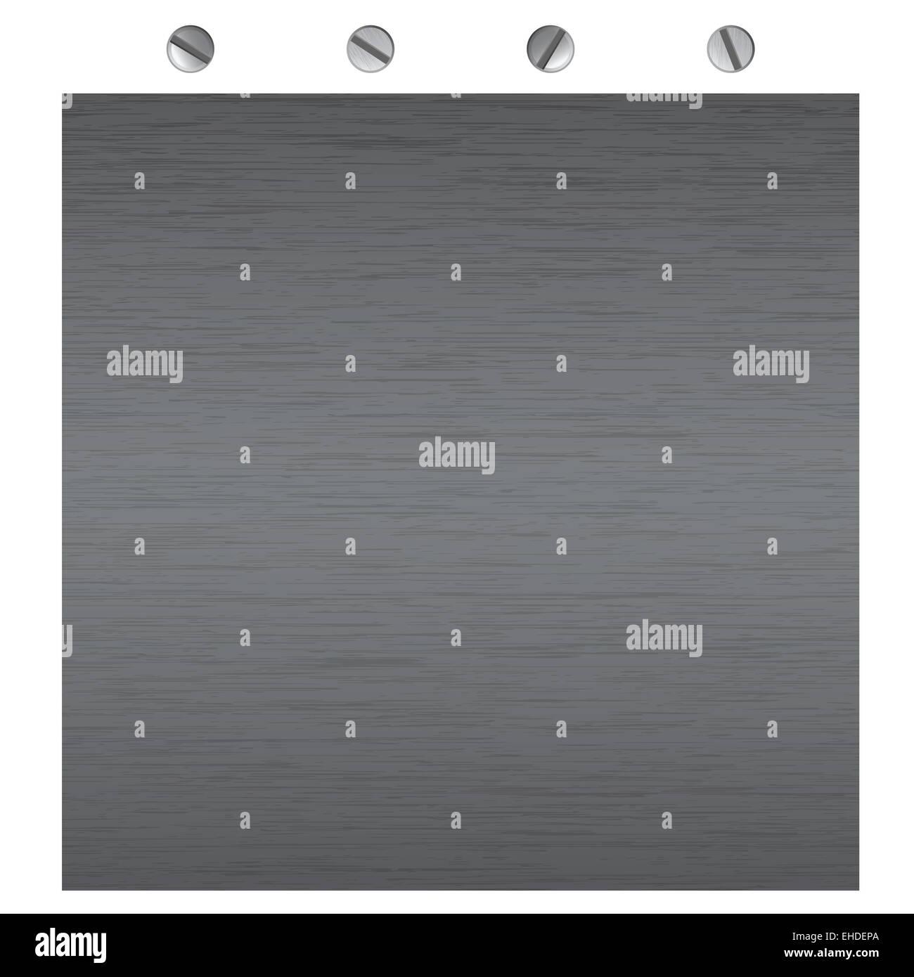 metal surface texture - Stock Image
