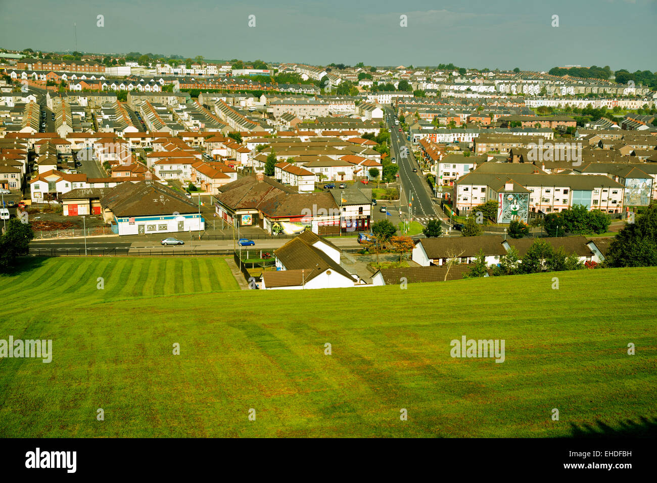 Derry/Londonderry. Northern Ireland - Stock Image