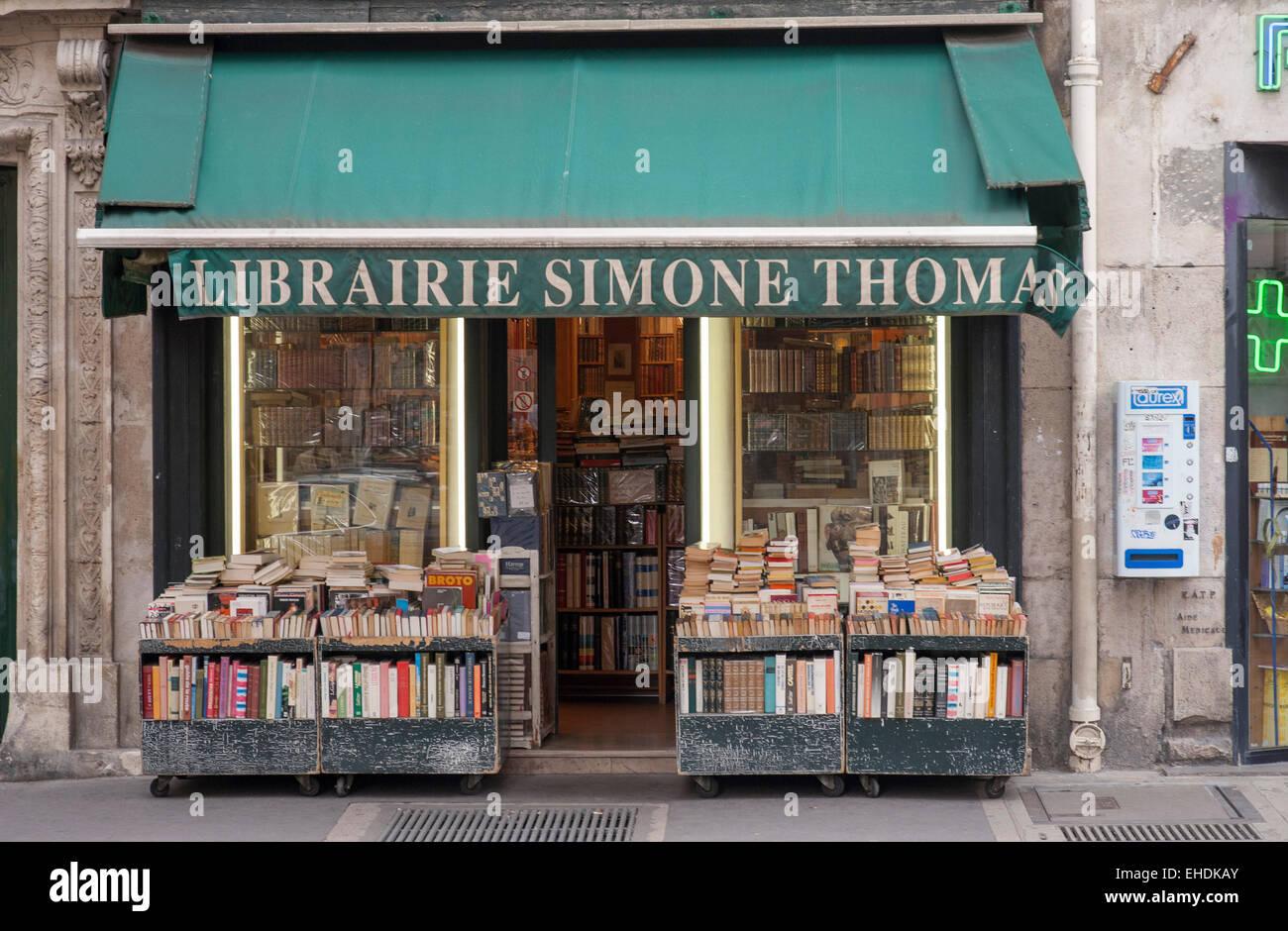 Librairie Simone Thomas Stock Photo
