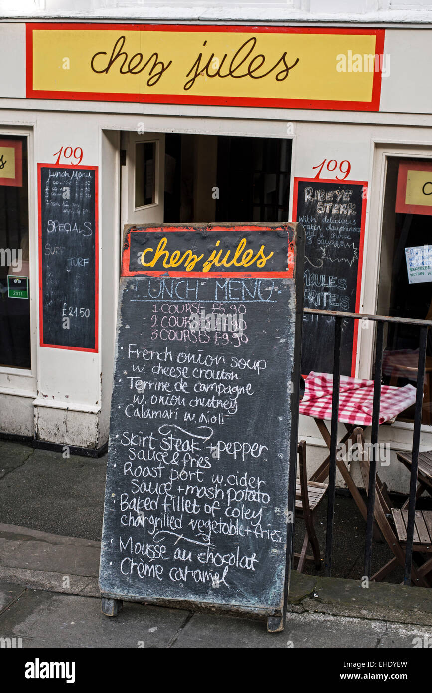 French Restaurant Hanover Street Edinburgh