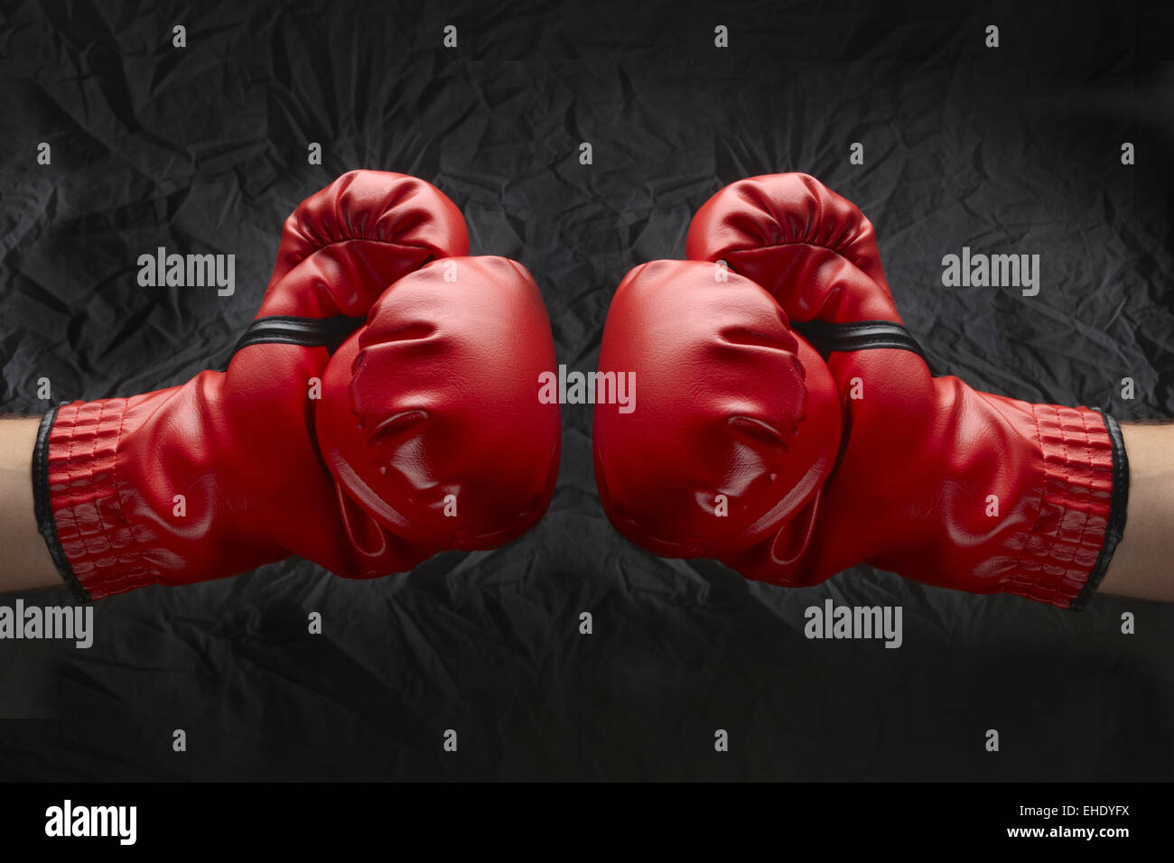 Let's get ready to rumble! Stock Photo
