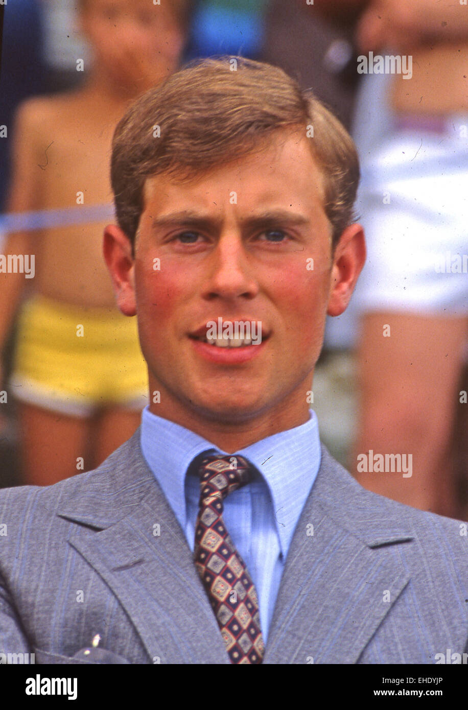 PRINCE EDWARD, Earl of Wessex, about 1985 - Stock Image