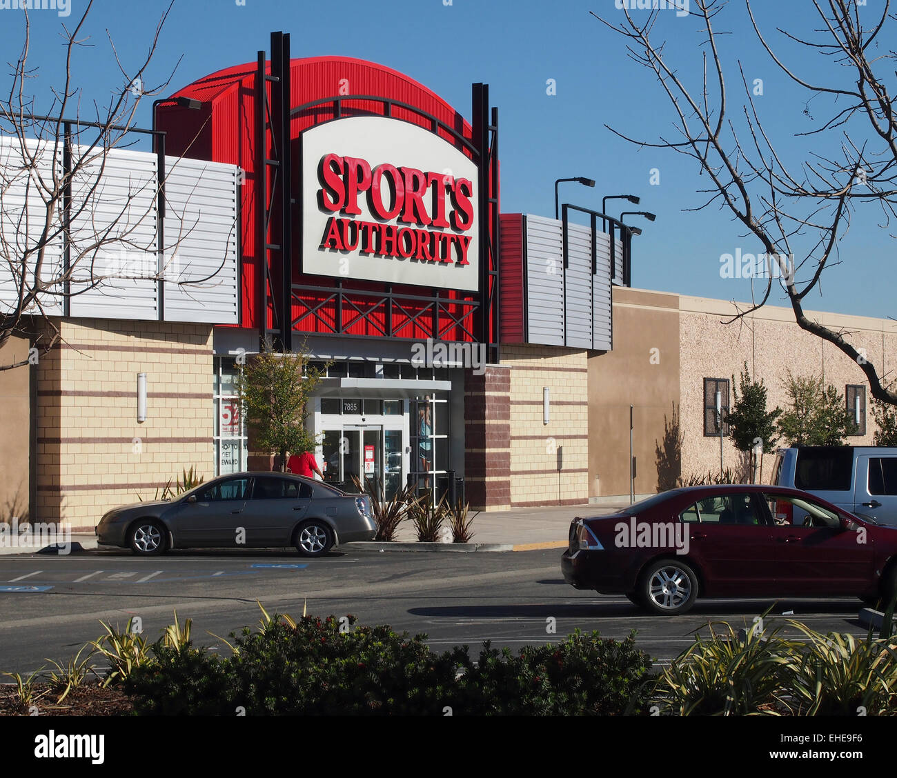 Sports Authority store  East Bay, California, USA Stock