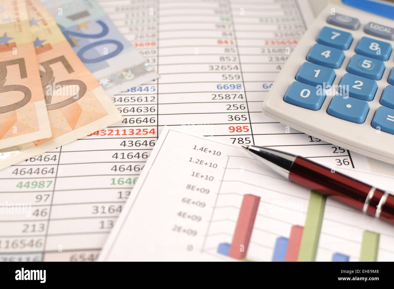 Business Programs - Stock Image
