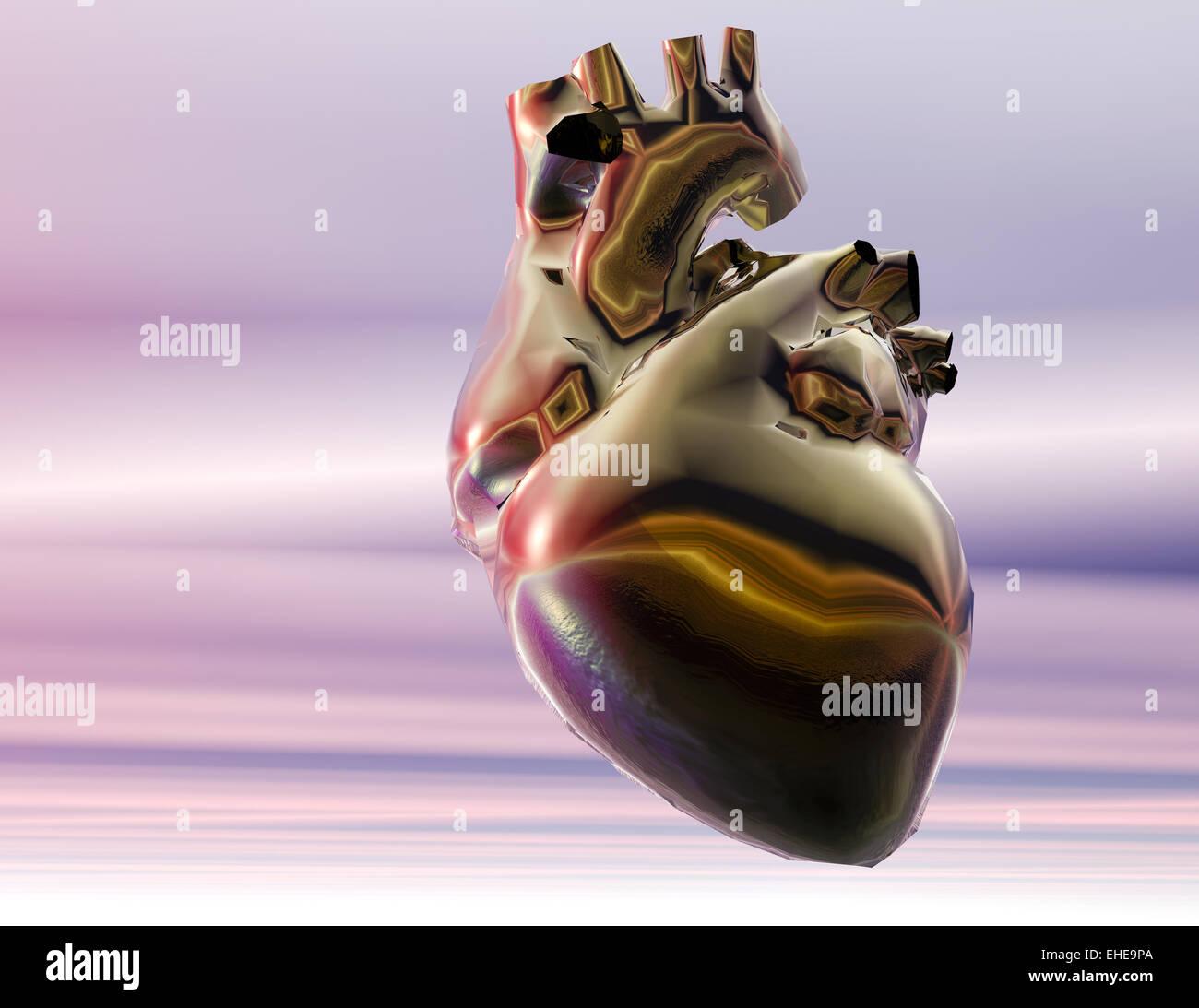 Herz Anatomie Pumpe Stock Photos & Herz Anatomie Pumpe Stock Images ...