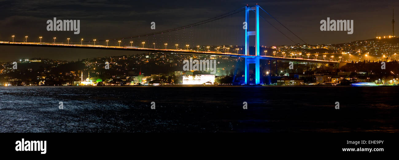 Bosphorus Bridge  - Bosporus Bruecke  - - Stock Image