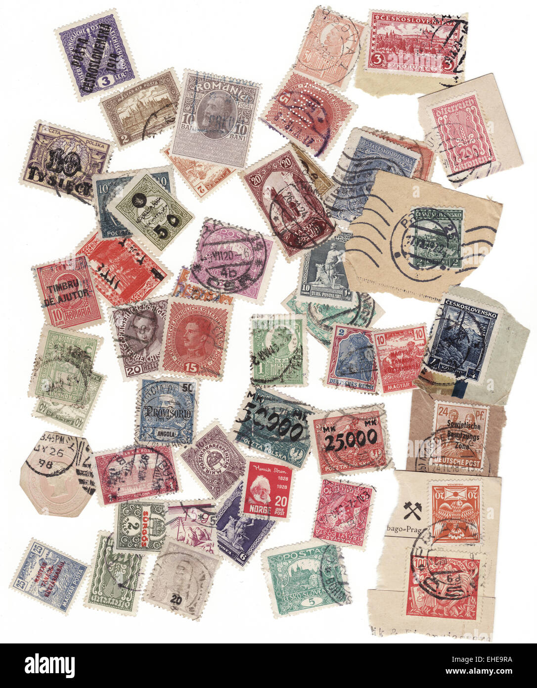 Stamps - Stock Image