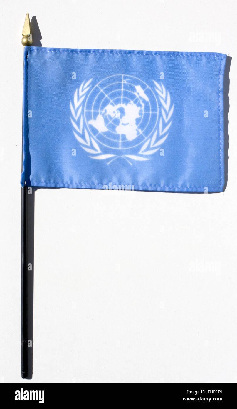 uno flag - Stock Image