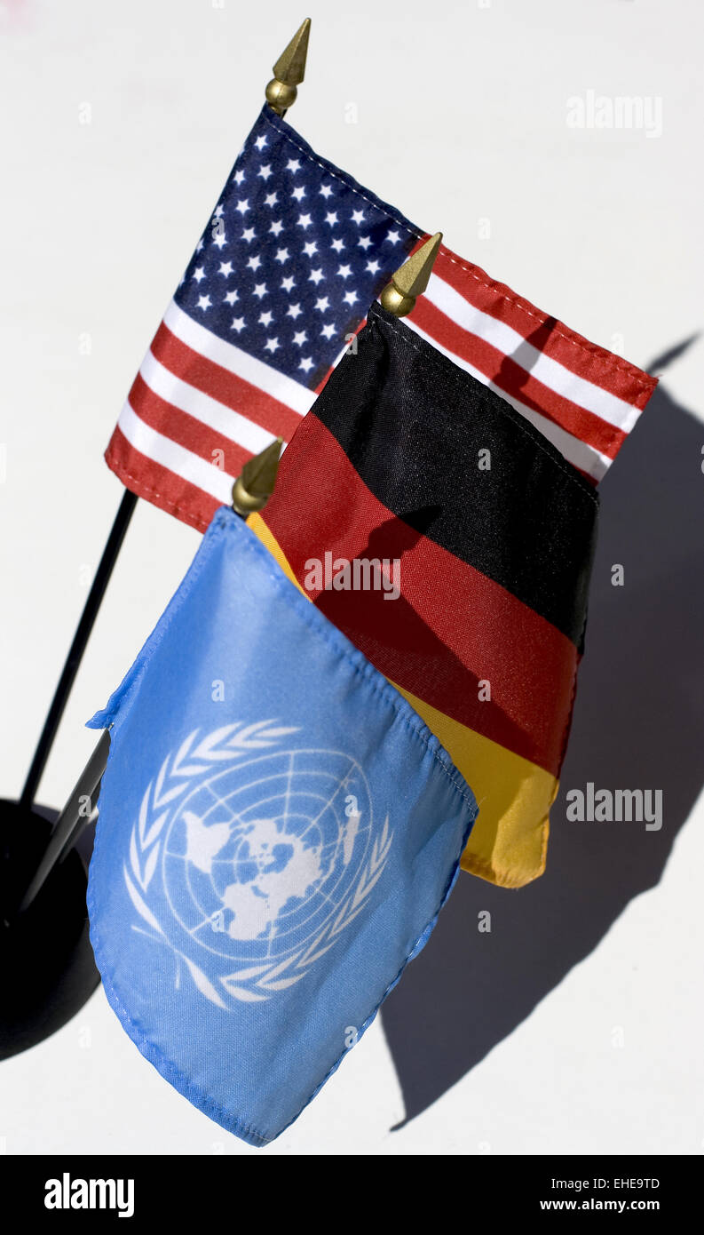 international politics - Stock Image