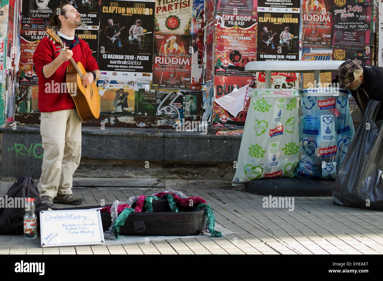 Street Live Istanbul - Leben in Istanbul - Stock Image