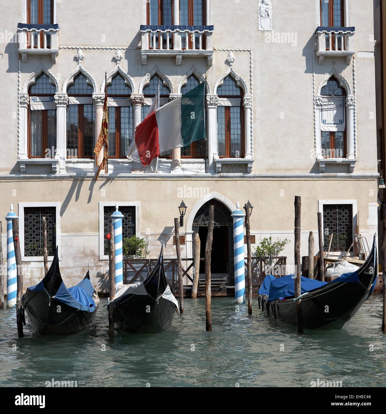 Living in venice - Leben in Venedig - Stock Image