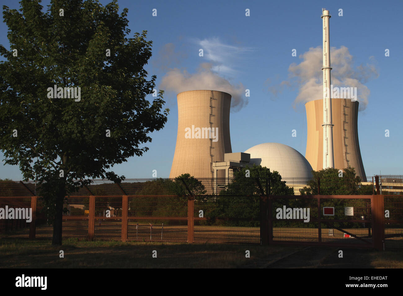 Nuclear Power Plant - Stock Image