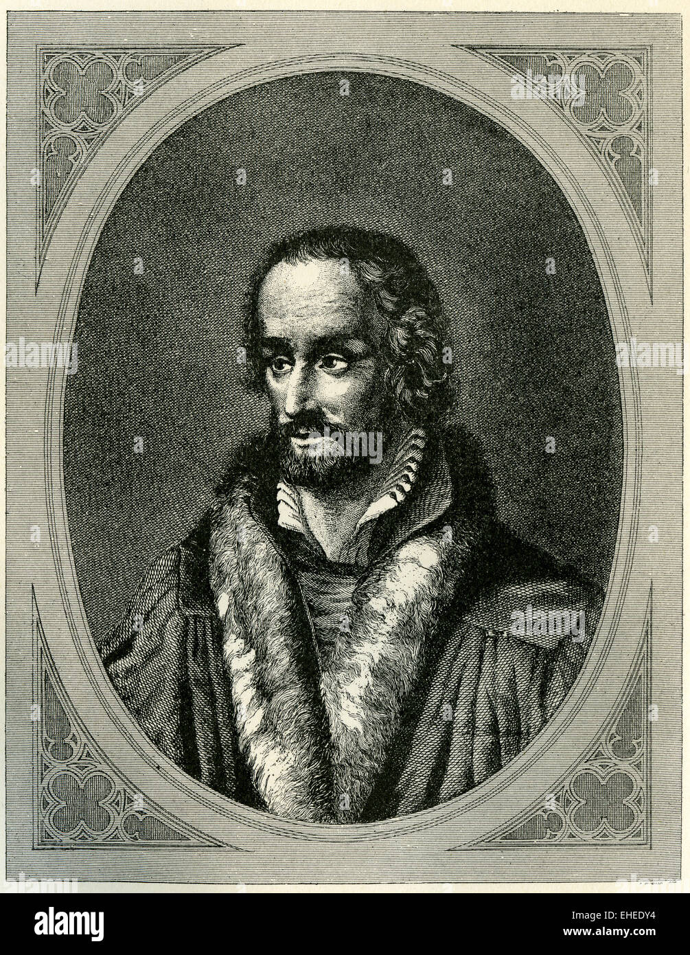 Reformer Philip Melanchthon of Germany. - Stock Image