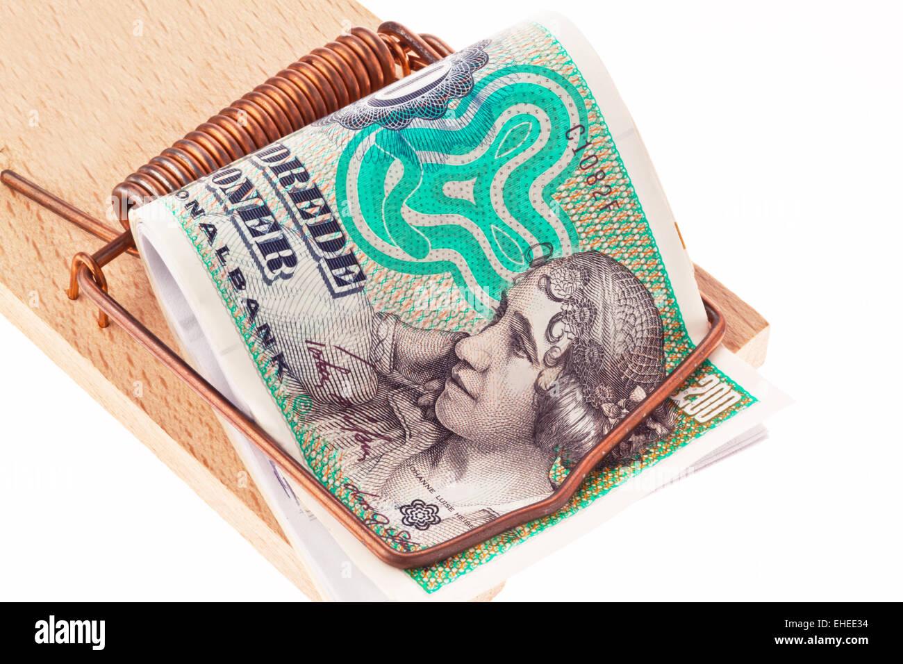 danish currency Stock Photo