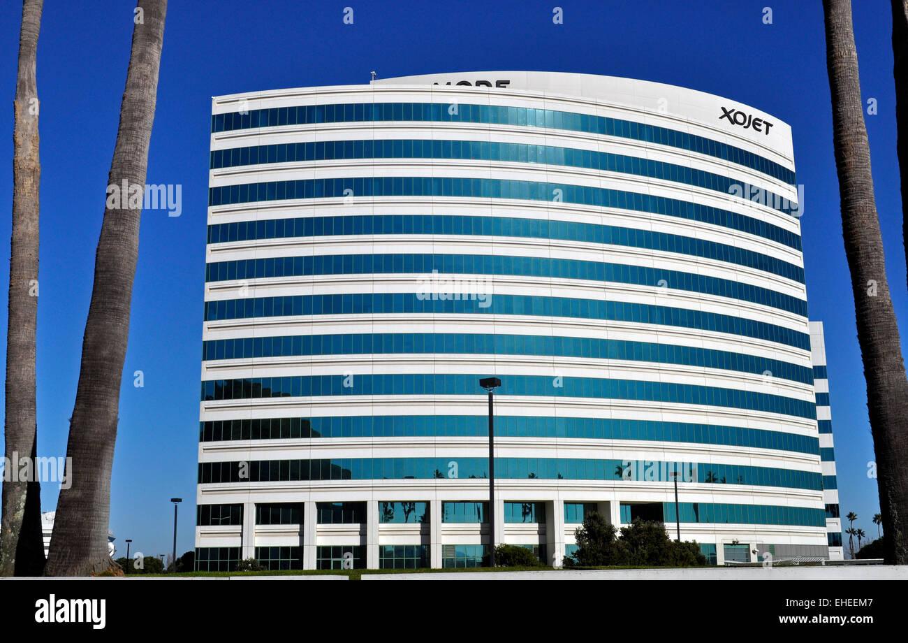 XOJET headquarters, Sierra Point Business Park, Brisbane, California - Stock Image
