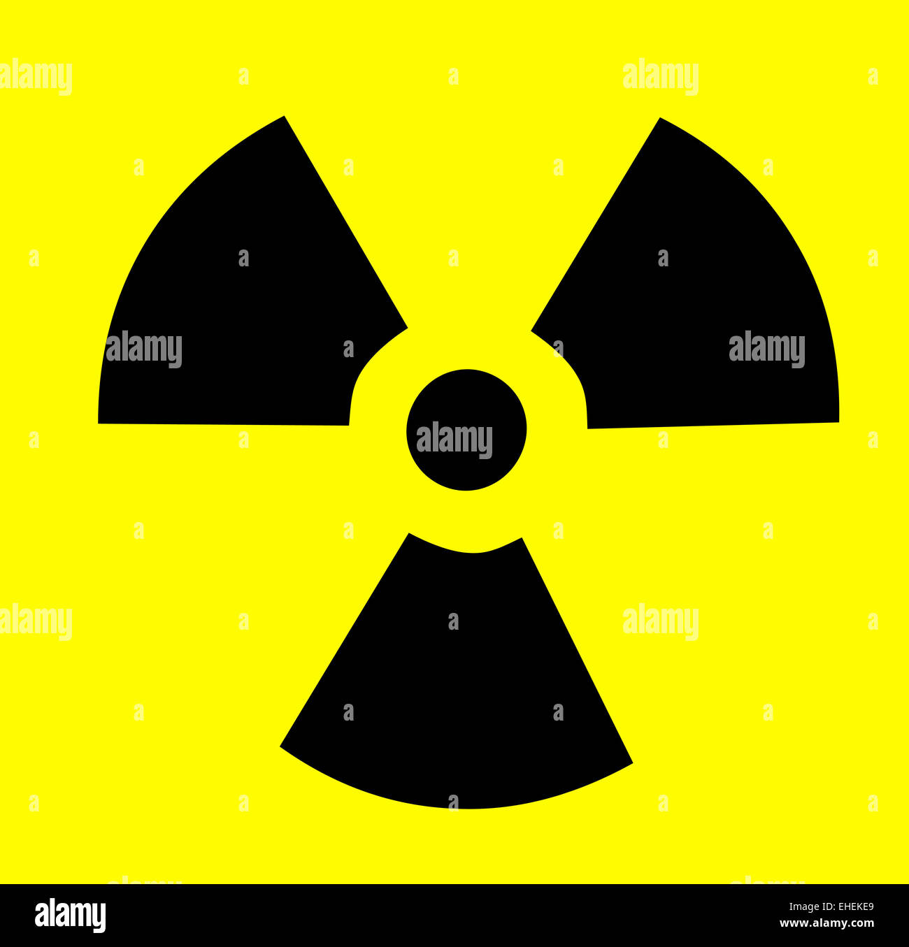 Atomic symbol yellow black Stock Photo: 79613249 - Alamy