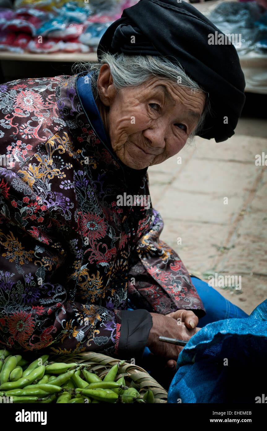 Shaxi Market Stock Photo