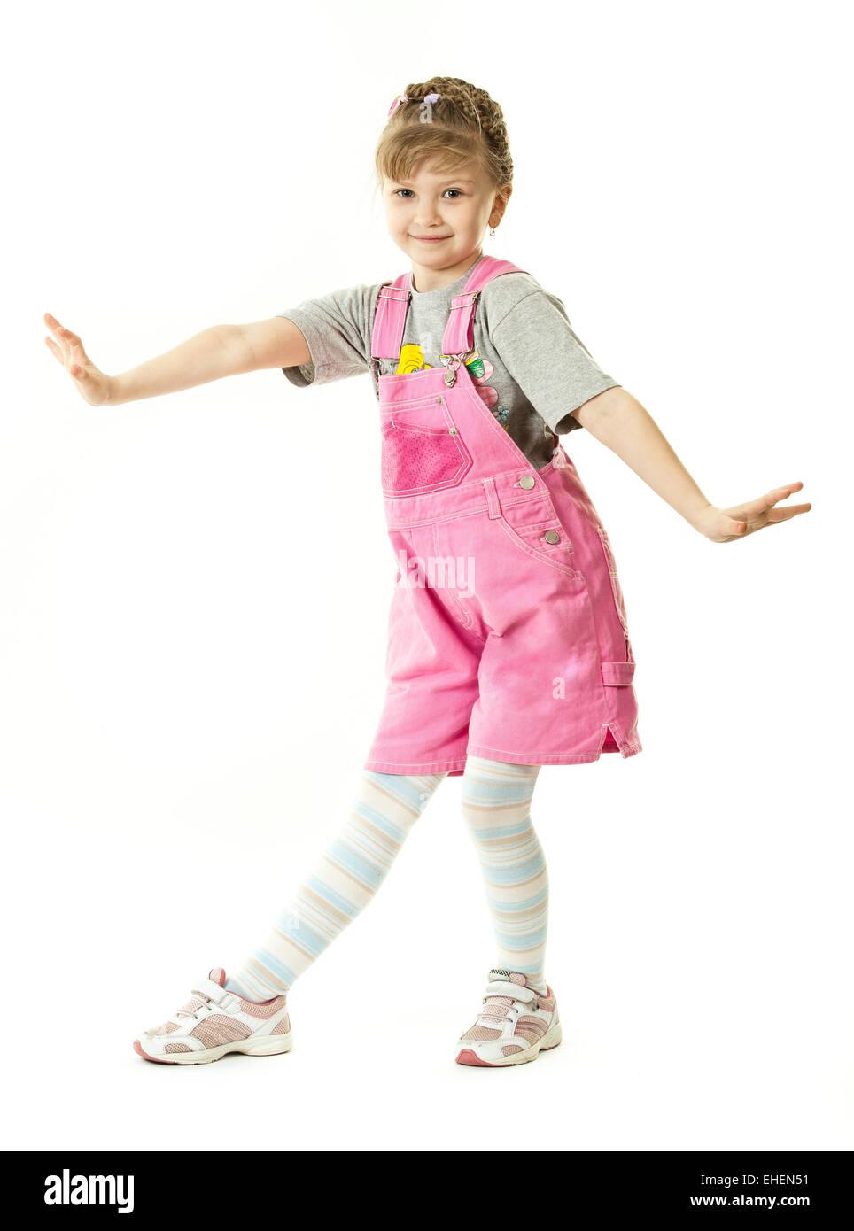 A girl posing - Stock Image