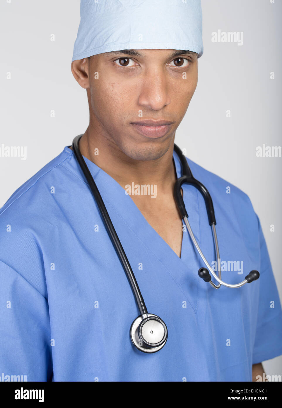 Young doctor / medical student - Stock Image