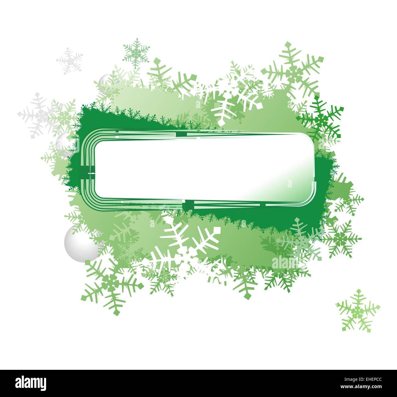 border christmas1.cdr - Stock Image