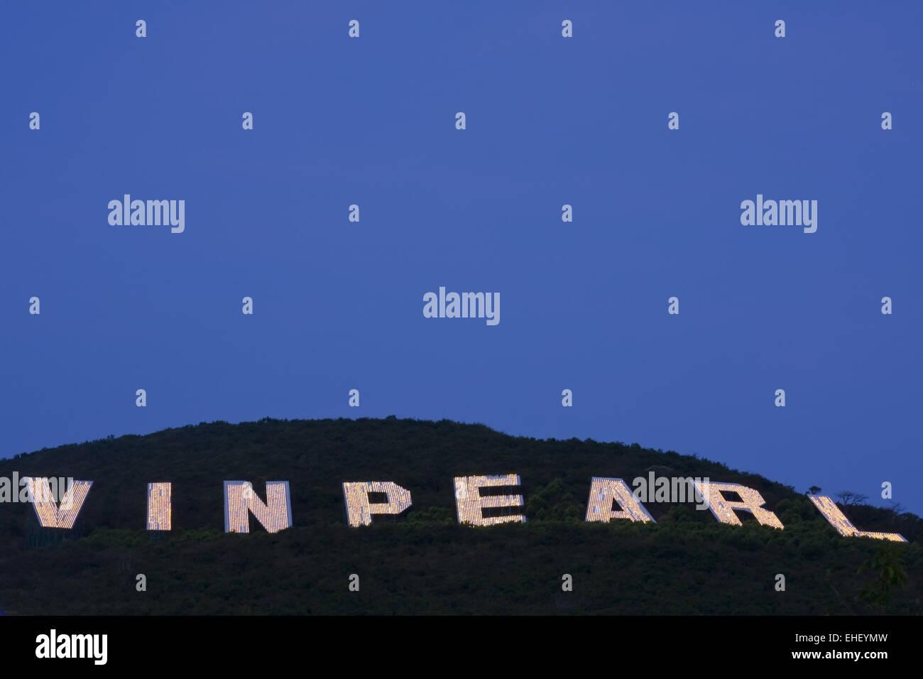 vinpearl island, nha trang, vietnam, asia - Stock Image