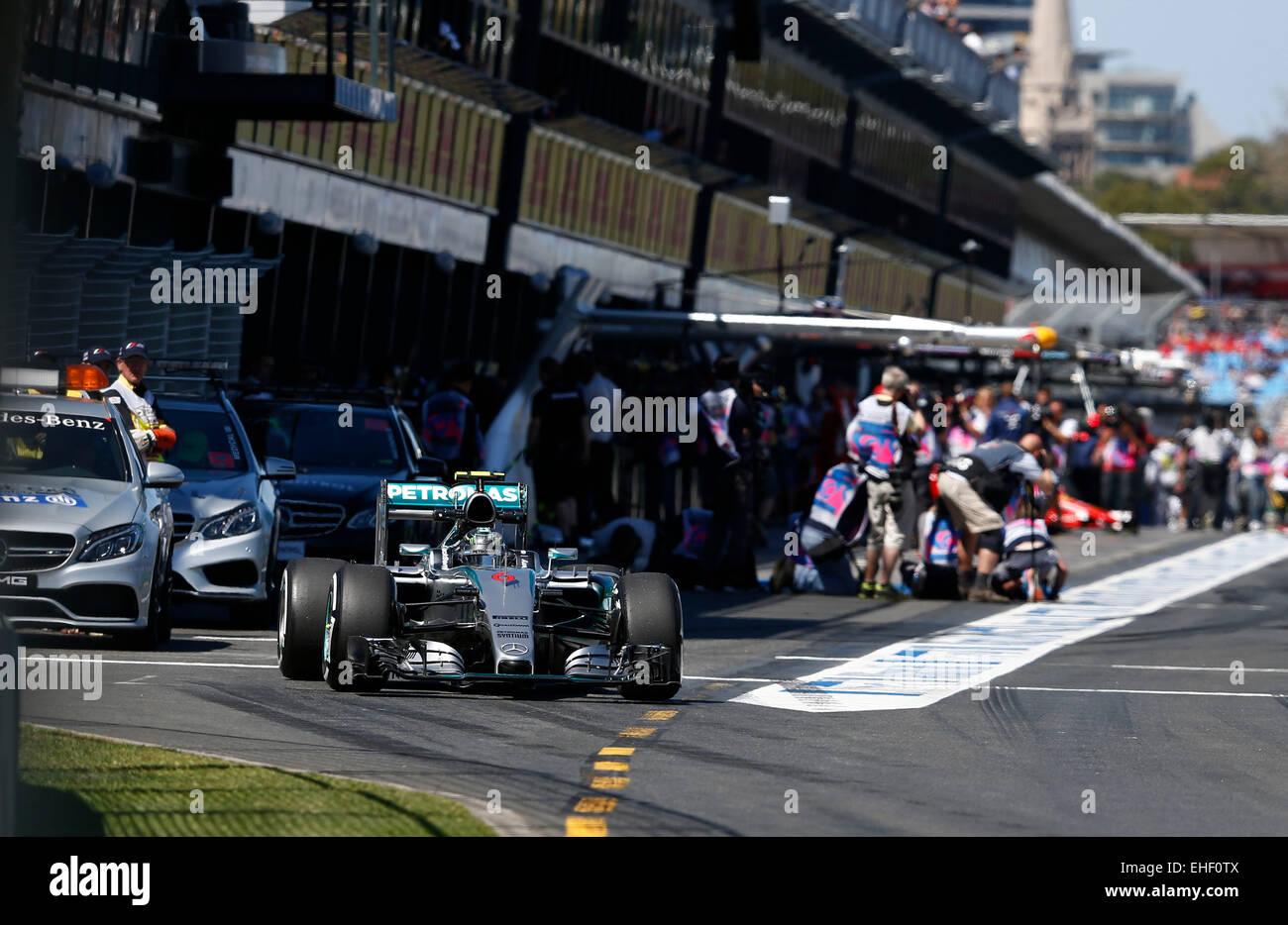 Melbourne, Australia. 13th March, 2015. Motorsports: FIA Formula One World Championship 2015, Grand Prix of Australia, - Stock Image