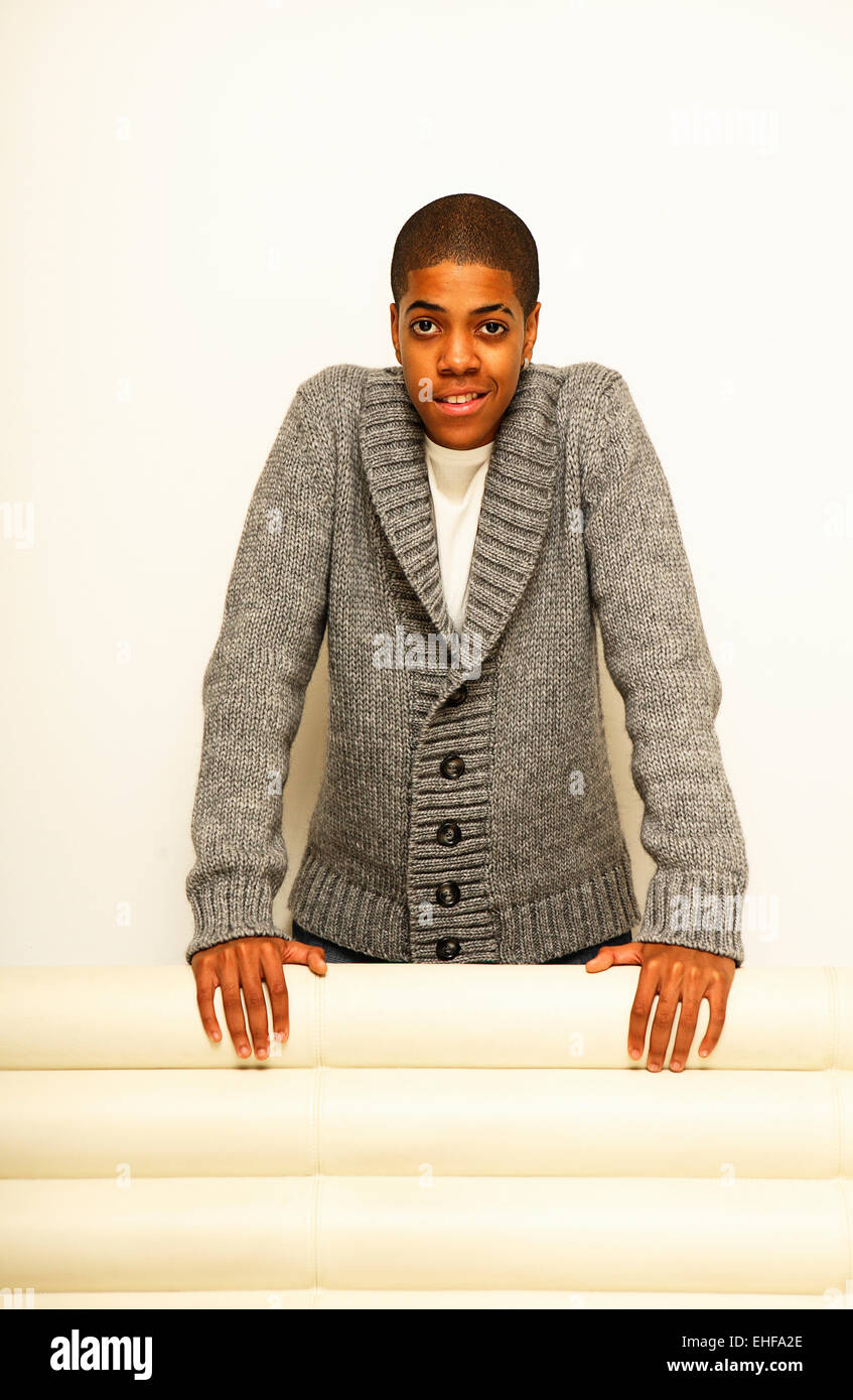 Chipmunk photographed at the MTV studios in Camden London 2008. - Stock Image