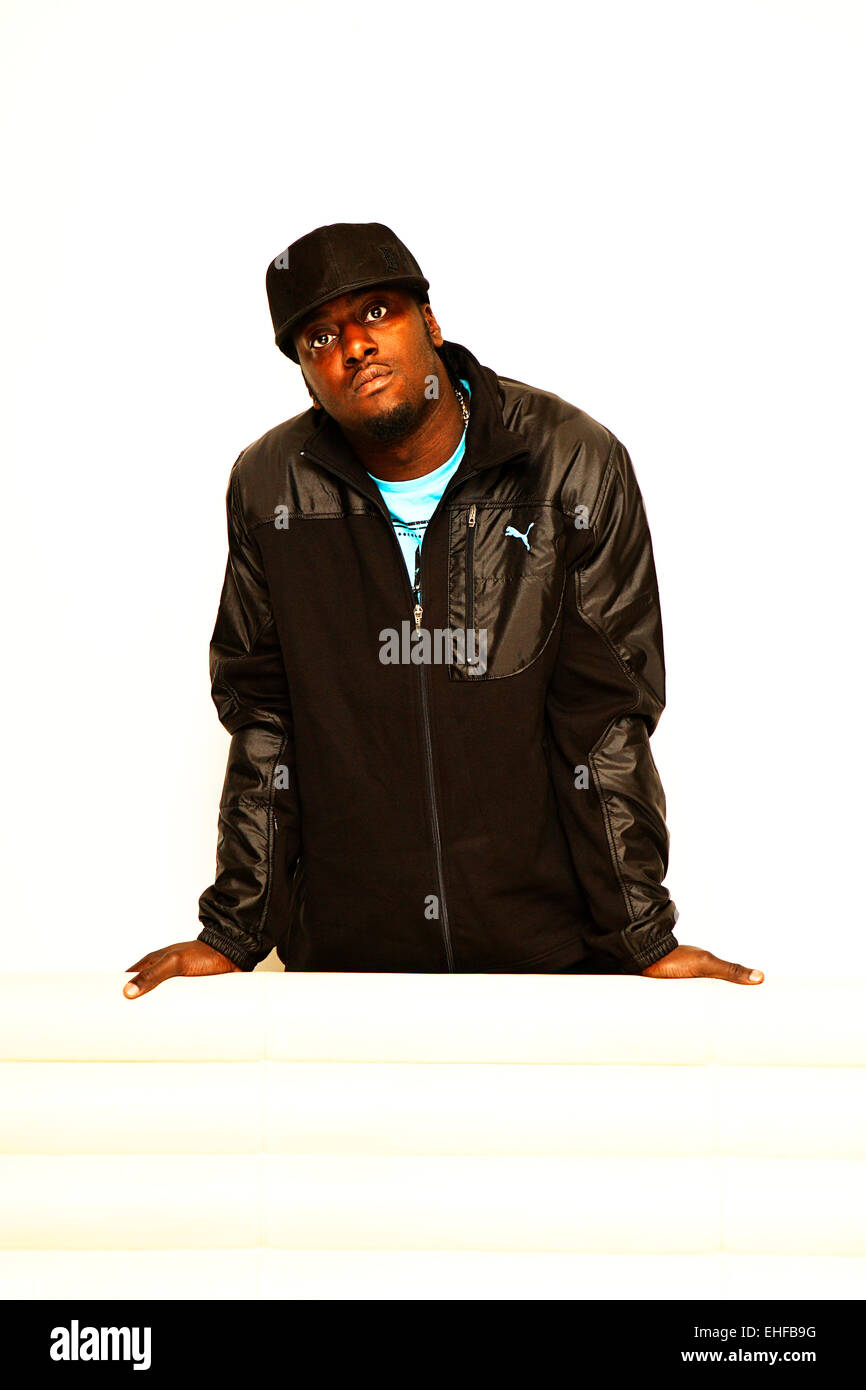 Sway photographed at the MTV studios in Camden 2008. - Stock Image