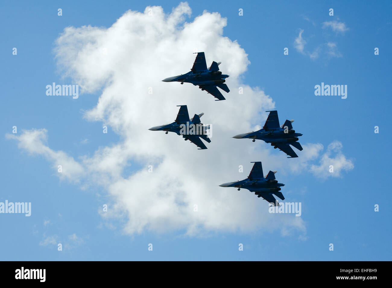 Aerobatic group - Stock Image