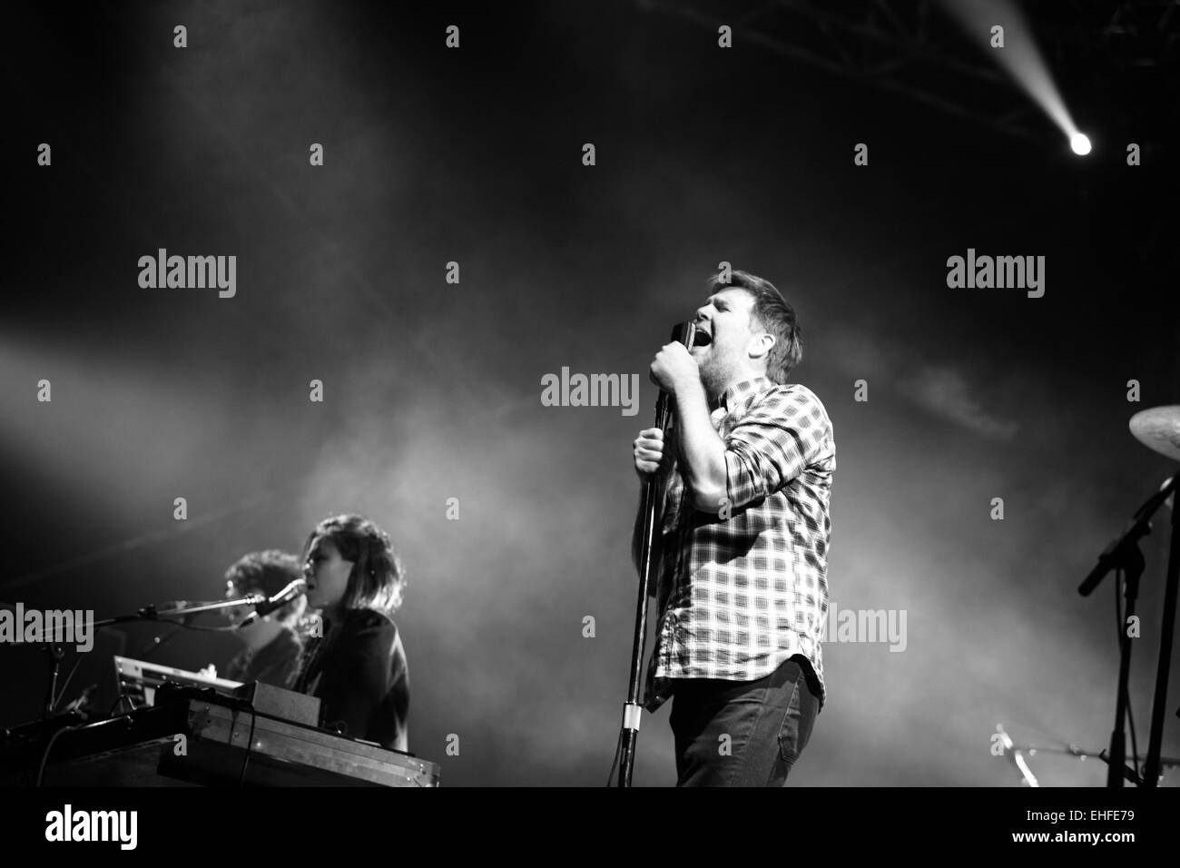 LCD Soundsystem at Bestival on the Isle of Wight Sunday 12th September 2010. - Stock Image