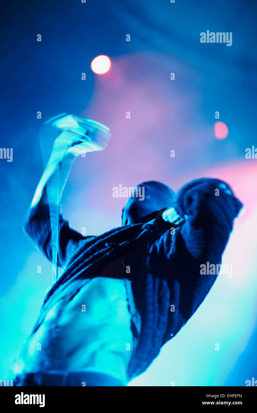 Tricky at Bestival on the Isle of Wight Friday 10th September 2010. - Stock Image