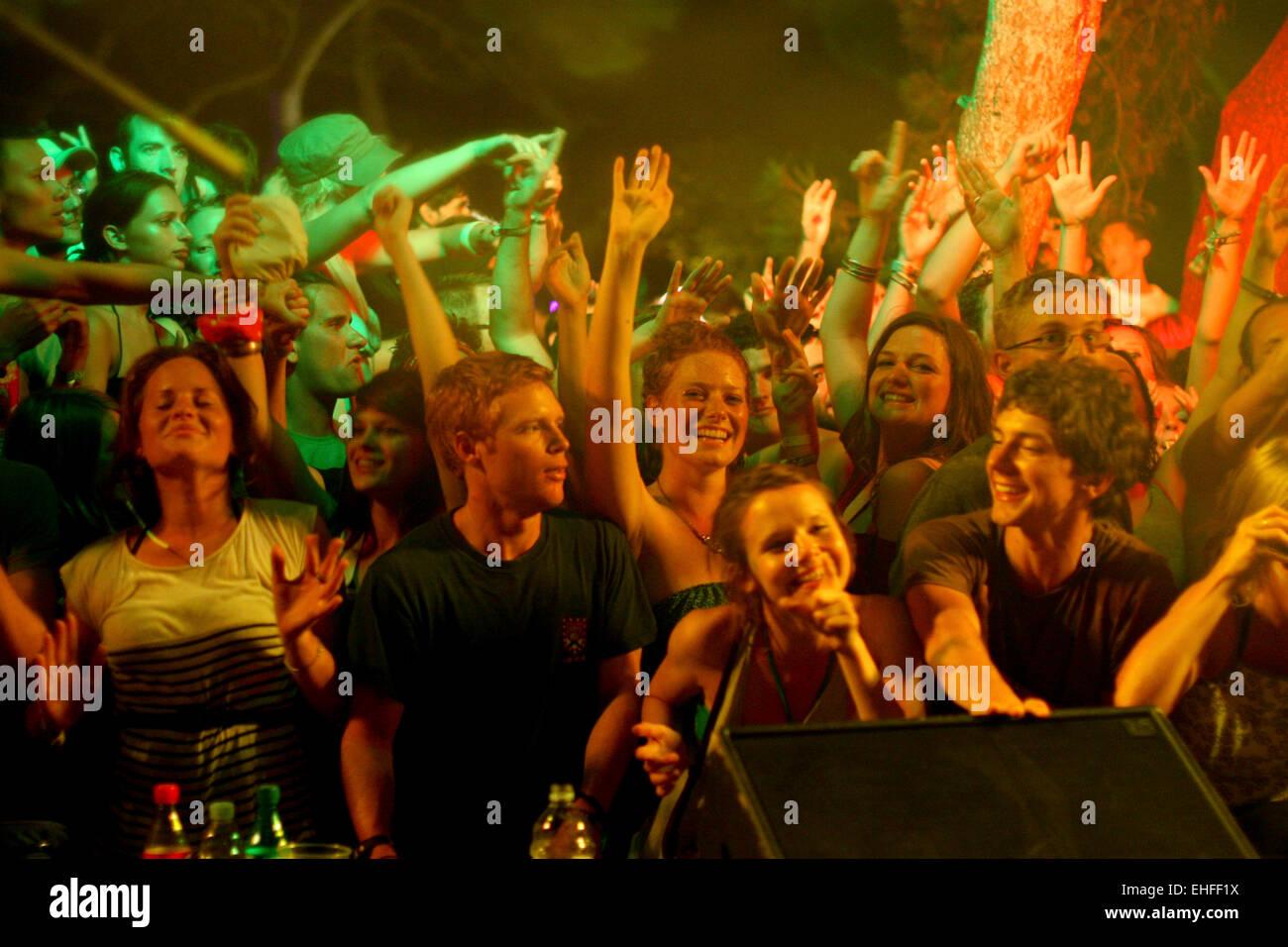 Soundwave festival in Garden Petrcÿane Zadar Croatia 17th to 20th ...