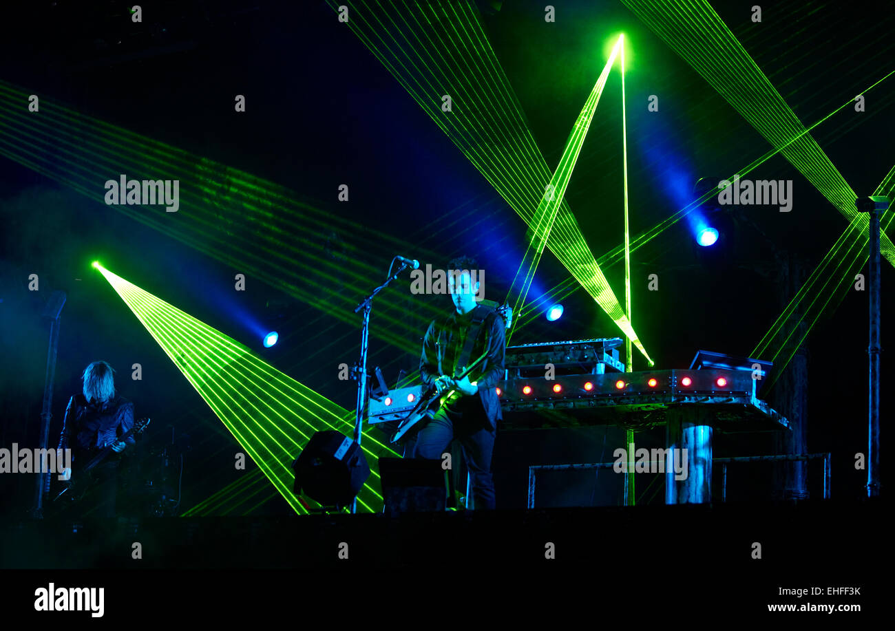 Bestival on the Isle of Wight Friday 9th September 2011. - Stock Image