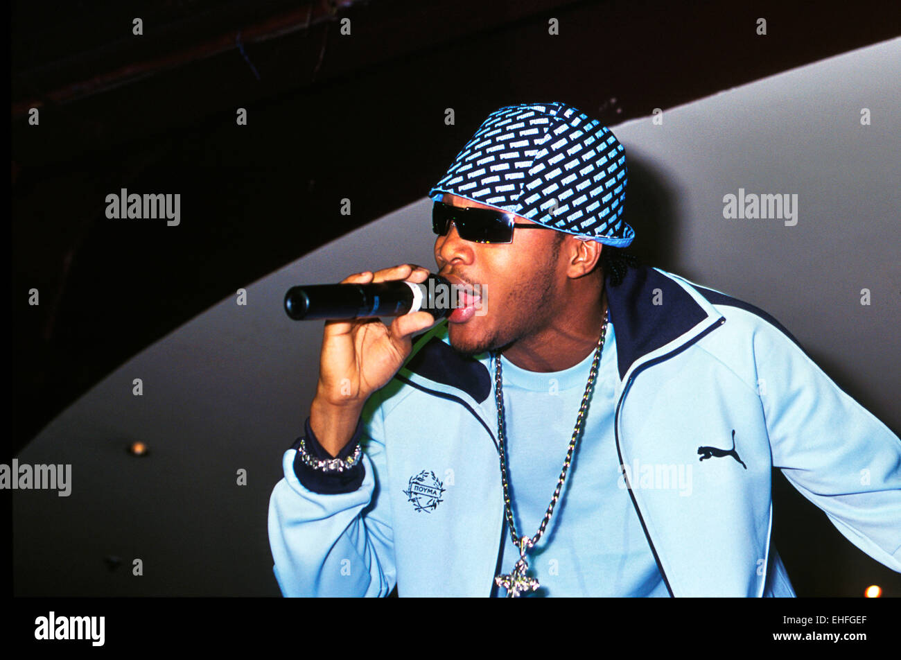 Assassin performing live at Miss Reggae Gold competition at the CC Club London. - Stock Image