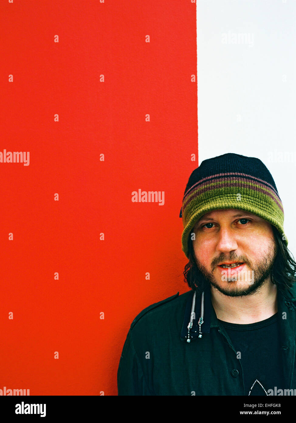 Badly Drawn Boy aka Damon Gough - Stock Image