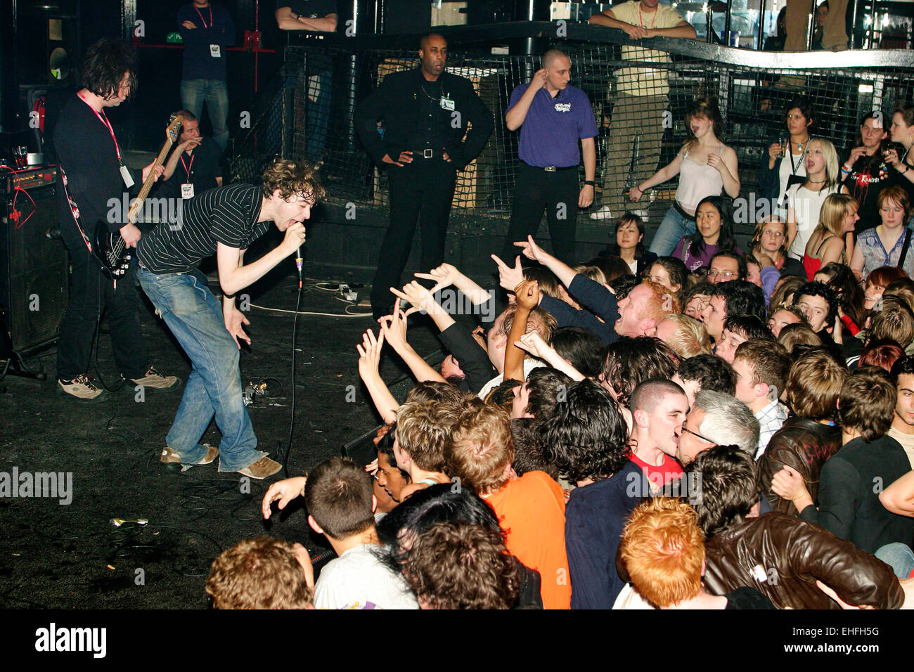 The Others live at Club NME at Koko in Camden London. Stock Photo