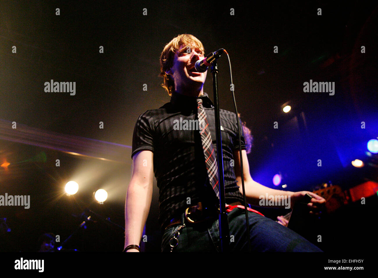 The Kaiser Chiefs live at Club NME at Koko in Camden London. - Stock Image