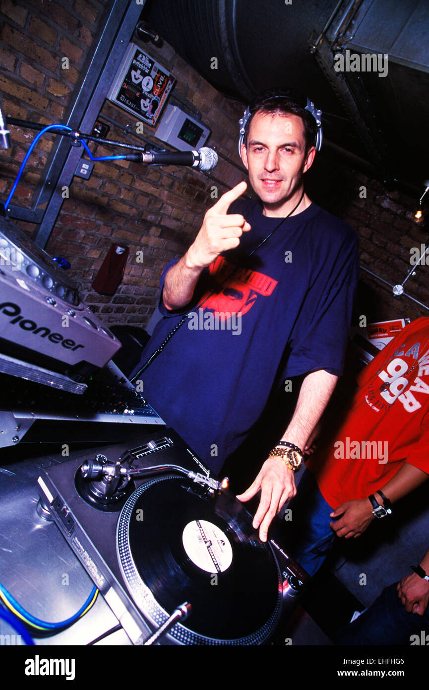 Tim Westwood DJing live at the Diesel Umusic Awards at Fabric London. - Stock Image