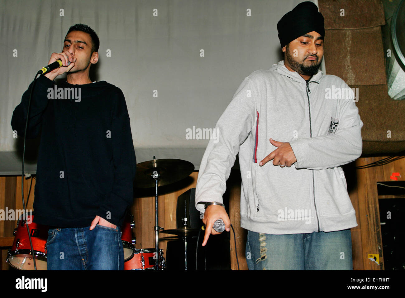 RDB live at Overground II at Cargo London. - Stock Image